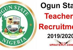 Ogun State Teachers Recruitment 2019/2021 Application Form Portal | http://jobs.ogunstate.gov.ng