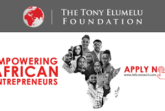 Tony Elumelu Foundation Entrepreneurship 2020 Application Form is Out – Apply here