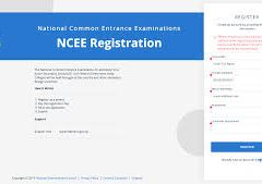 NCEE 2020 Registration Form | NCEE form 2020/2021 is out | www.ncee.neco.gov.ng