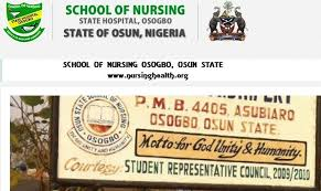 Osun State School of Nursing Past Questions